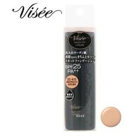 コーセー ヴィセ リシェ ヌーディフィット リキッド OC-410 普通の明るさの自然な肌色 (30mL) SPF25 PA++ リキッドファンデーション VISEE