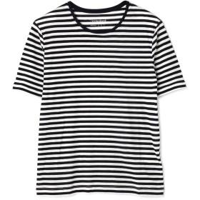 アッシュ・スタンダード H/standard ボーダーTシャツ ホワイトxブラックBD S【税込10,800円以上購入で送料無料】