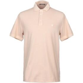 《期間限定セール開催中!》ANDREA FENZI メンズ ポロシャツ ローズピンク XXL コットン 100%