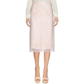 《期間限定 セール開催中》HILFIGER COLLECTION レディース 7分丈スカート ピンク 2 ポリエステル 90% / ナイロン 10%