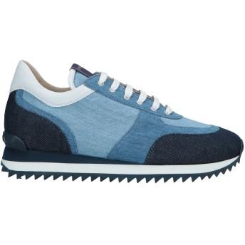 《セール開催中》LE SILLA レディース スニーカー&テニスシューズ(ローカット) ブルー 39 紡績繊維