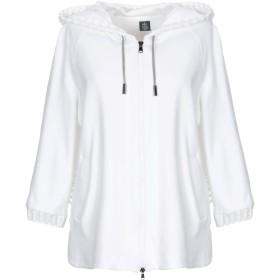 《期間限定セール開催中!》ELEVENTY レディース スウェットシャツ ホワイト XS コットン 100% / ナイロン / ポリウレタン