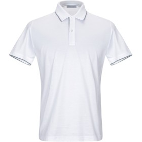 《セール開催中》GRAN SASSO メンズ ポロシャツ ホワイト 46 コットン 100%