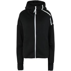 《期間限定セール中》ADIDAS レディース スウェットシャツ ブラック XS ポリエステル 61% / リサイクルポリエステル 39% W Zne Hd FR