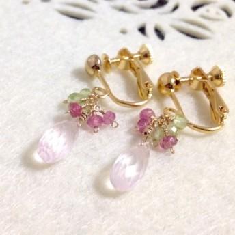 桜のイヤリング