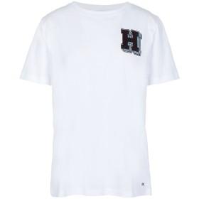 《セール開催中》TOMMY HILFIGER レディース T シャツ ホワイト S コットン BCI 100% JESSICA C-NK H TEE S