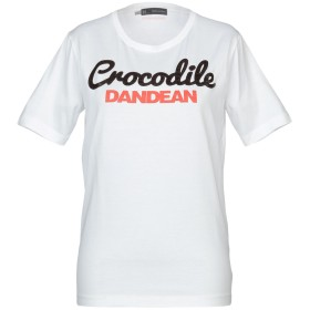 《セール開催中》DSQUARED2 レディース T シャツ ホワイト L コットン 100% / 牛革