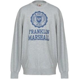 《セール開催中》FRANKLIN & MARSHALL メンズ スウェットシャツ グレー XS コットン 100%