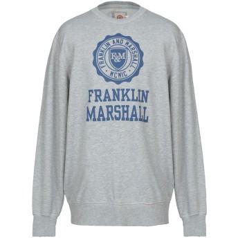 《セール開催中》FRANKLIN & MARSHALL メンズ スウェットシャツ グレー L コットン 100%