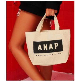 【41%OFF】 アナップ ANAPロゴキャンバスミニトートバッグ レディース アイボリー F 【ANAP】 【タイムセール開催中】
