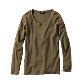 綿100%クルーネックTシャツ (大きいサイズレディース)Tシャツ・カットソー