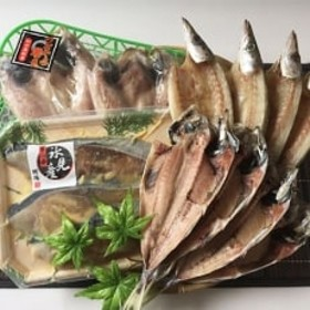 【氷見産ぶり・のど黒入り!】《鱈場特選》きときと魚一夜干し4種詰合せ