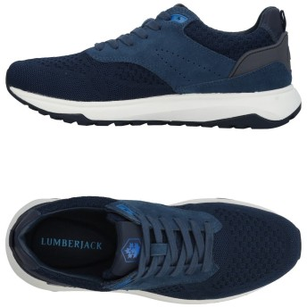 《セール開催中》LUMBERJACK メンズ スニーカー&テニスシューズ(ローカット) ブルー 39 紡績繊維 / 革