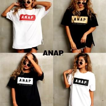 【セール開催中】ANAP(アナップ)ANAPロゴBIG Tシャツ