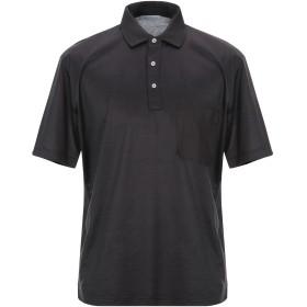 《期間限定セール開催中!》GRAN SASSO メンズ ポロシャツ スチールグレー 54 コットン 100%