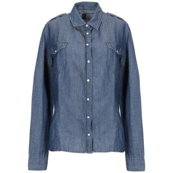 《セール開催中》ELEVENTY レディース デニムシャツ ブルー 40 コットン 70% / 麻 30%