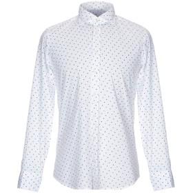 《期間限定セール開催中!》BASTONCINO メンズ シャツ ホワイト 41 コットン 97% / ポリウレタン 3%
