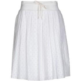 《9/20まで! 限定セール開催中》FABIANA FILIPPI レディース ひざ丈スカート ホワイト 42 コットン 100%