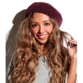 ベレー帽 - ANAP ベロアモールベレー帽