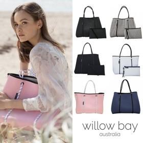 Willow bay ウィローベイ レディースバッグ トートバッグ ポーチ付き ファションバッグ ウィローベイ