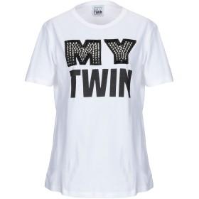 《送料無料》MY TWIN TWINSET レディース T シャツ ホワイト XXS コットン 100%