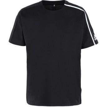 《期間限定セール開催中!》ADIDAS メンズ T シャツ ブラック S コットン 100% M ZNE tee