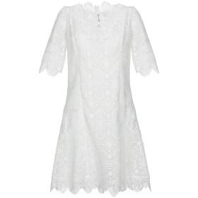 《期間限定セール開催中!》ERMANNO SCERVINO レディース ミニワンピース&ドレス ホワイト 38 ポリエステル 100% / ナイロン