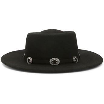 ハット - FOREVER 21 【WOMEN】 【ウールハット】 帽子 黒 ブラック フェス