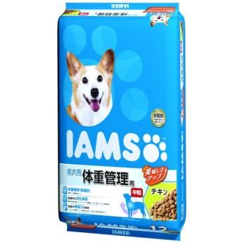 アイムス 成犬用 体重管理用 チキン 中粒 (12kg)