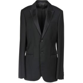 《セール開催中》ARMANI COLLEZIONI レディース テーラードジャケット ブラック 48 ウール 100% / ポリエステル / シルク