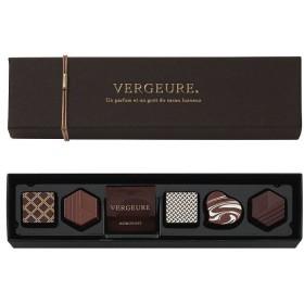 バレンタイン チョコレート モロゾフ ヴェルジュール ヴェルジュール(プティショコラ) 6個入 義理 チョコ