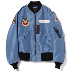 <MEN>BUZZ RICKSON'S / ASTRONAUT L-2B SKOSHI TIGERフライトジャケット メンズ ミリタリージャケット SKY BLUE S