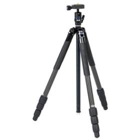 【スリック】 三脚 エアリーカーボン644 LED カメラ用三脚