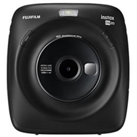 【フジフイルム】 チェキスクエア インスタントカメラ INS SQUARE SQ 20 BLACK インスタントカメラ