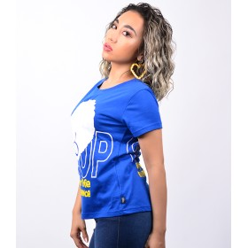 Tシャツ - babyshoop B系 レディース ファッション ストリート ダンス SHOOP×アフロガール T-SH8416