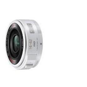 【パナソニック】 交換用レンズ マイクロフォーサーズ H-PS14042-W 交換用レンズ