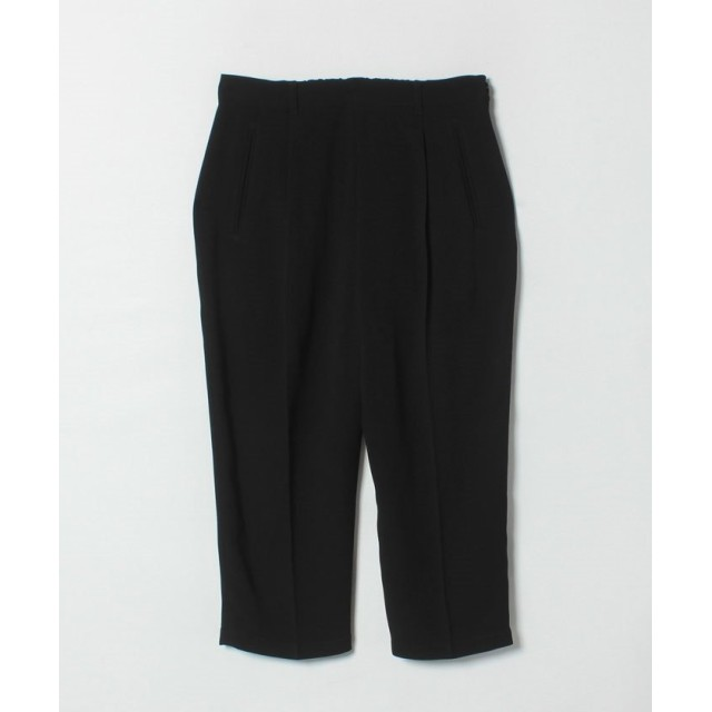 アニエスベー U700 PANTALON パンツ レディース ブラック 36(S) 【agnes b.】