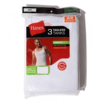 HANES / 3ピース タンクトップ メンズ タンクトップ WHITE S