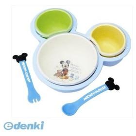 錦化成  4904121306514 離乳食用食器セット ミッキーマウス