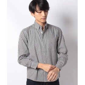 【40%OFF】 イッカ ピンオックスボタンダウンンシャツ メンズ ダークネイビー S 【ikka】 【タイムセール開催中】