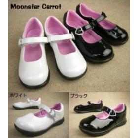 Moonstar  Carrot TRキャロット 1053 / ムーンスター キャロット チロリアンキャロット フォーマル キッズ&ジュニア ホワイト ブラック