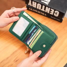 二つ折り財布 - REAL STYLE レディース ゴールドプレート ミニ財布 財布 さいふ サイフ 小さい財布 短財布 ウォレット 2つ折り 二つ折り 小銭入れ札入れカードケース カード入れ コンパクト シンプル かわいい おしゃれ 可愛い 韓国ファッション