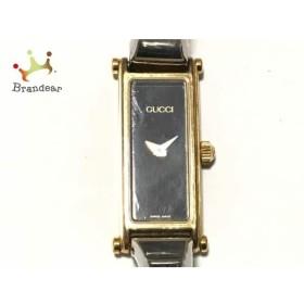2964fae7949c グッチ GUCCI 腕時計 1500 レディース 黒 スペシャル特価 20190329