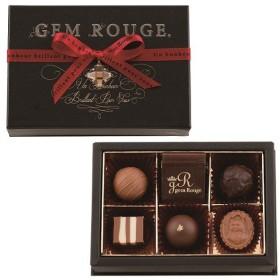 バレンタイン チョコレート モロゾフ ジェムルージュ ジェムルージュ(トリュフ) 7個入 義理 チョコ