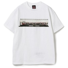 INDEPENDENT / Bobby Worrest グラフィック プリント Tシャツ メンズ Tシャツ WHITE M