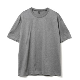 International Gallery BEAMS QUATTROCCHI / FILO DI SCOZIA クルーネック Tシャツ メンズ Tシャツ GREY MELANGE 50