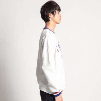 スウェット・ジャージ - WEGO【MEN】 カンゴール別注ワッペンロゴ起毛プルオーバー MC18WN11-M005