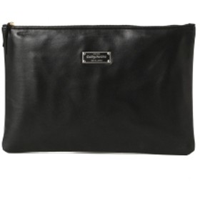 WACKO MARIA × PORTER / 別注 Clutch Bag メンズ クラッチバッグ BLACK×BLACK ONE SIZE