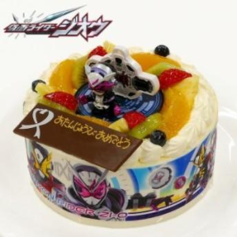 【送料無料】キャラデコお祝いケーキ仮面ライダージオウ 生クリームショートケーキ