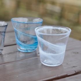 ゆったりくつろいで こだわりの家呑みグラス 我が家の一杯 焼酎グラスS白